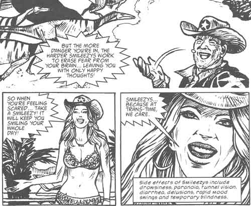 scene from Flesh in 2000AD Prog 1728